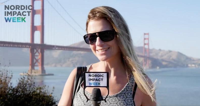 Liza-Maria Norlin San Francisco launching Nordic Impact Week 2017